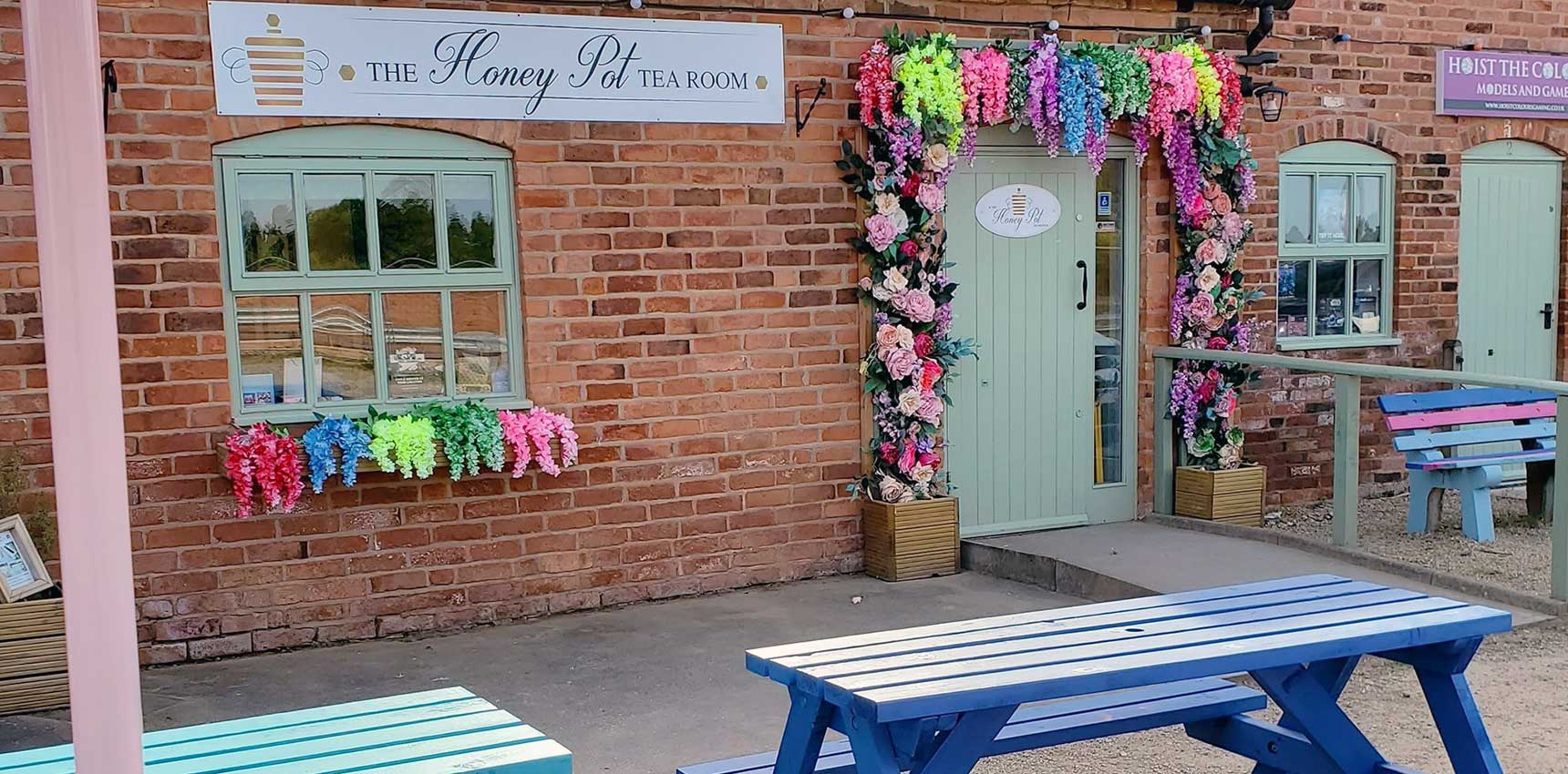 honey pot tearooms rosliston 2