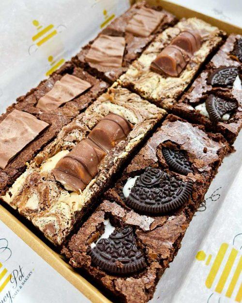 honeypot fudge brownie box b